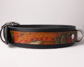 Personalized Tattoo-style dog collars