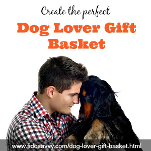 create a dog lover gift basket