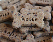 All Natural Blueberry Mini Bones Dog Treats