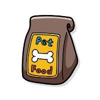 Dog food for canine bladder infection and bladder stones
