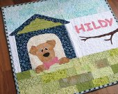 Personalized dog quilt