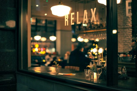 Restaurant to relax in